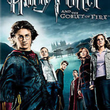 NEW HARRY POTTER AND THE GOBLET OF FIRE WIDESCREEN EDITION DVD IN SEALED BOX
