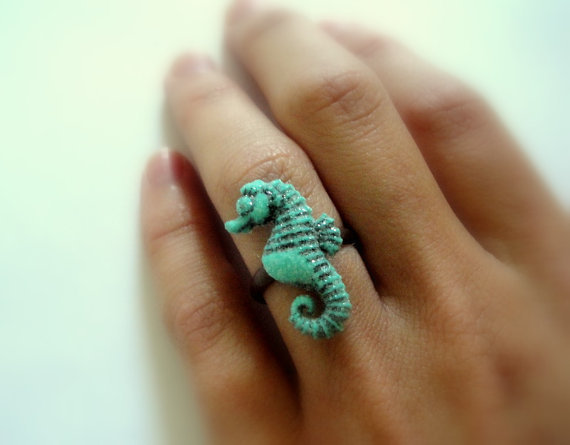 Seahorse Ring