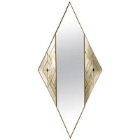 Splendid Diamond Shaped Mirror by Lorenzo Burchiellaro, 1988