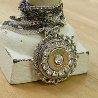 Bullet Jewelry, Bullet Necklace, Gun Jewelry, Upcycled Jewelry, Outlaw Glam