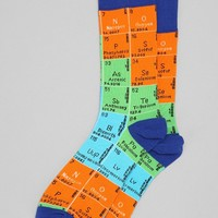 Periodic Table Sock- Yellow One