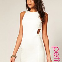ASOS | ASOS PETITE Cut Out Shift Dress at ASOS