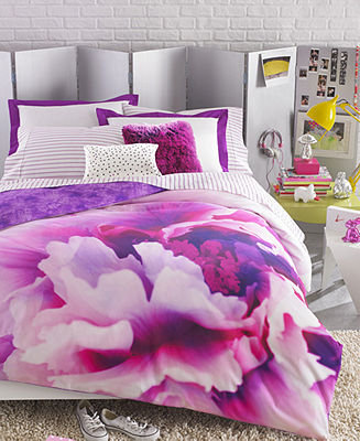 Teen Vogue Bedding, Violet Comforter Sets - Teen Bedding - Bed &amp; Bath - Macy&#x27;s