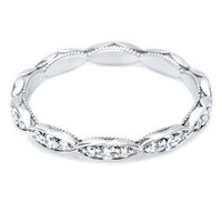 Tacori Item 2631RD - Womens Wedding Rings - Dantela Collection