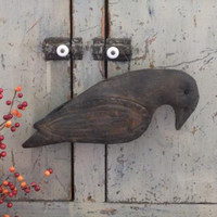 Primitive Hanging Crow Fall Decor