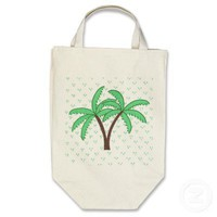 Palm Trees 2 Bag from Zazzle.com