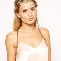 ASOS Grunge Flapper Draping Hair Crown