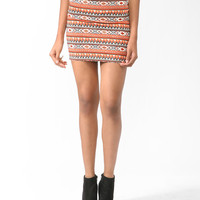 Chinle Print Bodycon Skirt