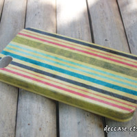 iPhone 4 case - Pastel Colors Bar Stripe