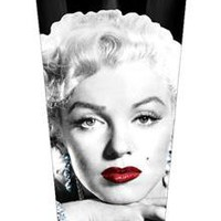 Marilyn Monroe Pint Glass in Fun &amp; Games Drinking Glassware Pint Glasses