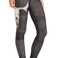 Teeki Deer Medicine Hot Pant in Black