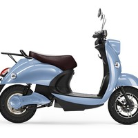 MONOQI | Electric Scooter - Blue/Brown
