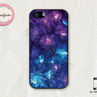 Colorful Mosaic iPhone 5 Case, iPhone 5s Case, iPhone Case, iPhone Hard Case, iPhone 5 Cover, iPhone 5s Cover