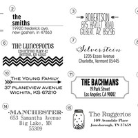 Personalized Self Inking Designer Stamps - 32 Designs