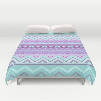 Mix #589 Duvet Cover by Ornaart | Society6