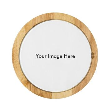 Create Your Own Custom Photo Round Cheese Board