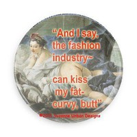 Humorous MAGNET Dissing the Fashion Industry-