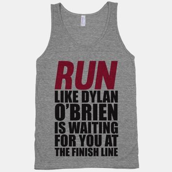 Run Like Dylan O'Brien Is Waiting For You At The Finish Line