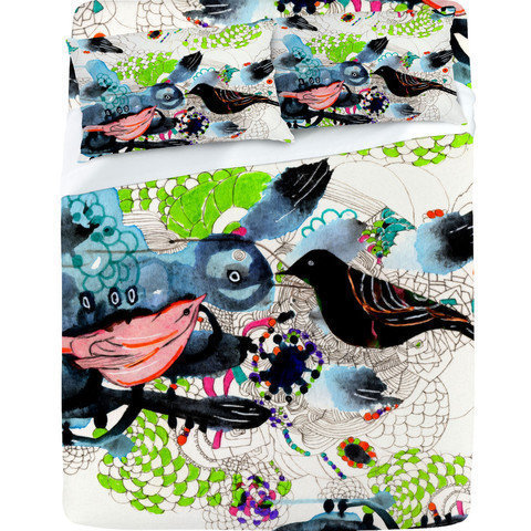 DENY Designs Home Accessories | Randi Antonsen Birds 7 Sheet Set