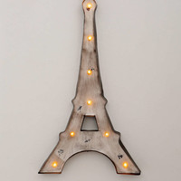 Eiffel Tower Light- Charcoal One