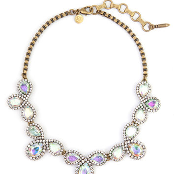 ALICE NECKLACE IN IRIDESCENT