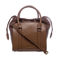 Burberry 'Dinton' Small Brown Leather Tote