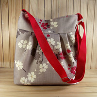 Crossbody bag Diaper Bag Messenger Bag Floral Shoulder Bag School Teacher Bag Travel bag Canvas Weekender Bag LIMITED EDITION