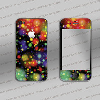 iphone 4 cover - Night Lights