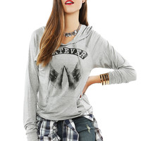 Papaya Clothing Online :: WHATEVER GRAPHIC TOP