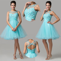 Short Sweetheart Formal Prom Cocktail Ball Evening Party Homecoming Gown Dress