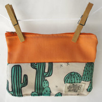 Prickly Pear Pouch: Ready to Ship