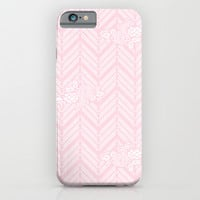 Pink Chevron Floral iPhone & iPod Case by BeautifulHomes