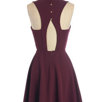 ModCloth Mid-length Sleeveless A-line Show Them the Sway Dress