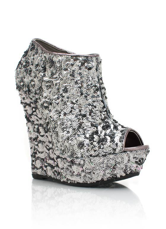 sequined-peep-toe-wedges BLACK PEWTER ROSEGOLD - GoJane.com