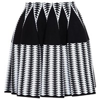 AZZEDINE ALAÏA | Op Art Stretch-Wool Skirt | Browns fashion & designer clothes & clothing