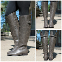 On The Rustic Road Boot - Taupe - TAUPE /