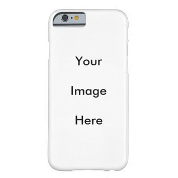 Custom Photo Case-Mate Barely There iPhone 6 Case