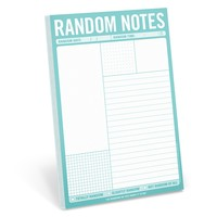 Random Notes Note Pad