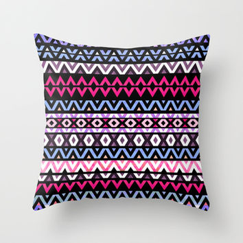 Mix #413 Throw Pillow by Ornaart | Society6