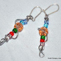 Spiral Luster Earrings