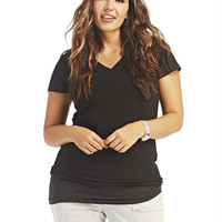 V-Neck Tee | Wet Seal