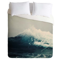 Bree Madden Sea Wave Duvet Cover