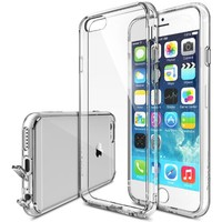 iPhone 6 Case - Ringke FUSION iPhone 6 Clear Case [Drop Protection][CRYSTAL VIEW] Shock Absorption Bumper Premium Hybrid Hard Case for Apple iPhone 6 - Eco/DIY Package