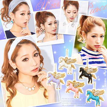 Gorgeous cute unicorn earings