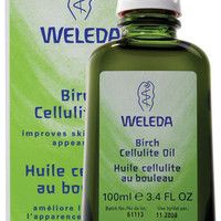 Birch Cellulite Oil 3.4 oz, Weleda Skin Care