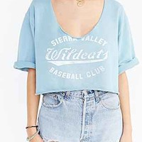 Future State Raw Scoop-Neck Cropped Sweatshirt - Urban Outfitters