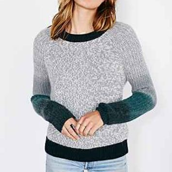 Shae Dip-Dye Sleeve Sweater - Urban Outfitters