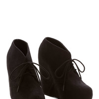 ModCloth Statement Acoustic It Out Bootie