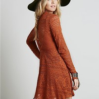 Free People Womens Dinner Date Dress
