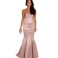 Jenner Blush Homecoming Dress